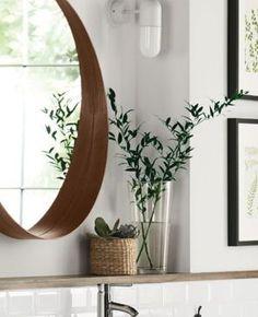 Ikea Stockholm, Stockholm Mirror Ikea, Stockholm Living, Ikea Bedroom, Home Decor Bedroom, Bathroom Inspiration, Home Decor Inspiration, Nordic Interior Design, Ikea Mirror