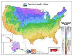 Find your USDA Plant Hardiness Zone by your ZIP code. Includes data on first and last frosts, average temperature, and precipitation.
