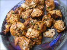 Kosher Blazing Chicken Kabobs from The Kosher Channel