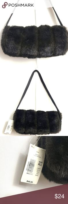NWT Preston & York Faux Vegan Mink Fur Purse Super cute faux fur purse by Preston & York.  It has great vintage mod, boho, hippie style!  New with $48.00 tag, still has the silica packets in the pocket.  Height: 6 inches Length: 12 inches Depth: 3 inches Strap Drop:  11 inches  Thanks so much for looking!  I'm happy to answer any questions you may have! Happy Poshing!! Preston & York Bags