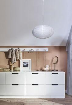 SOLLEFTEÅ hanglampenkap | #IKEAcatalogus #nieuw #2017 #IKEA #IKEAnl #wit #lamp #verlichting #led #kast #haken #wand #slaapkamer #woonkamer