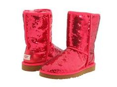 Uggs! I totally wanted these sequined ones in another color but I always wait til the last minute to buy them!
