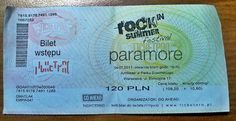 PARAMORE ticket by TheDeadStare.deviantart.com