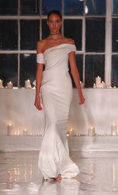Bridal Fashion Week: The Chicest Wedding Dresses for Spring 2017 - Cappellazzo Couture from InStyle.com