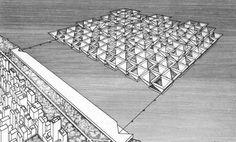 Stanley Tigerman. Urban Matrix, 1967