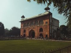 this is naubat khana. a building inside Red Fort,Delhi,India Delhi India, Louvre, Architecture, Building, Red, Travel, Construction, Voyage, Rajasthan India