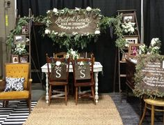Image result for wedding fair stand ideas
