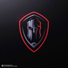 """""""Elite Darkstar"""" a recent Custom Logo Design for a gamer looking for a very dark style! Here's our end concept for his project! We hope you… Logo Desing, Game Logo Design, Best Logo Design, Custom Logo Design, Custom Logos, Dark Style, Spartan Logo, Logo Minimalista, Education Logo Design"""