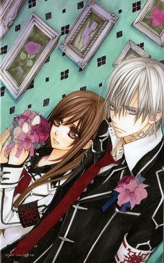 Yuuki y Zero // vampire knight