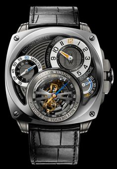 Harry Winston Histoire de Tourbillon 4 Watch   harry winston