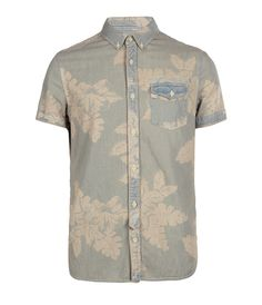 Waimea Short Sleeved Denim Shirt (Spring 2012) by AllSaints