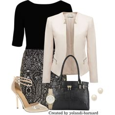 """work appropriate #74 by Yolandi Barnard"" by yolandi-barnard on Polyvore"