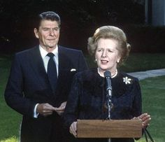 Neoliberalism: The ideology at the root of all our problems Ronald Reagan and Margaret Thatcher at the White House.