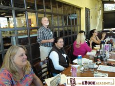 Our workshop was held at The Broken Yolk in #SanDiego . www.TheEbookAcademy.com