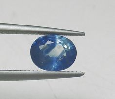Natural .83 cts Blue Sapphire Heated Only Loose by GemoGemArt