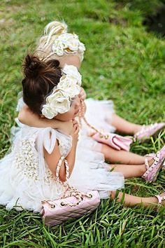 Ivory Gold Flower Hair Wreath Crown- Bridal Hair Wreath- Flower Girl Halo- Flower Crown-  Halo Wedding- Girl Birthday Crown- Princess Crown