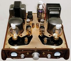 Voxativ 808 Integrated Amplifier High-End Audio Audiophile Vacuum Tubes