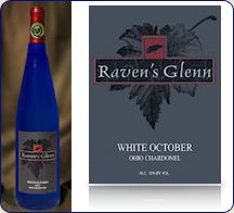 Raven's Glen White October - The limited 2008 bottling of this prestigious Ohio wine won the Platinum Medal at the 2010 San Diego International Wine Competition Harvest Market, Crown Jewels, Wines, San Diego, Ohio, Competition, October, Fresh, Columbus Ohio
