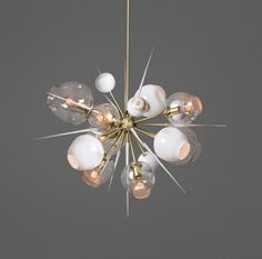 The lighting collection that belongs on your wish list : Lindsey Adelman Studio 'Branching Bubble 10.04'