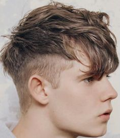 Want Michael to get this hair cut  #hitleryouth - horrible name for it I know. Men's Hairstyles, Top Hairstyles For Men, Hairstyle Ideas, Fringe Hairstyles, Mens Haircuts Messy, Messy Haircut, Trendy Haircuts, Male Haircuts, Male Undercut
