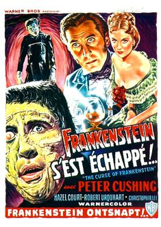 The Curse of Frankenstein (France)