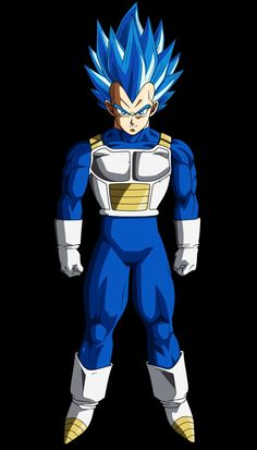Vegueta Super Saiyajin Blue Evolution