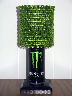Love this!!! Monster Energy Can Lamp with Monster Energy Tabs!!!