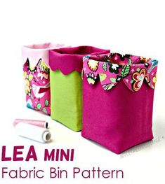 Sewing pattern for the cutest little fabric baskets with a scalloped edge. Mini fabric baskets to sew. Scraps friendly sewing patterns. Sewing with scraps. Fat quarter sewing pattern. #SewABag #BagSewingPattern #SewingForBaginners #SimpleSewingPattern #EasySewingPattern #SewModernBags #SatinFabric Fabric Bins, Felt Fabric, Fabric Scraps, Fabric Basket, Satin Fabric, Easy Sewing Patterns, Bag Patterns To Sew, Placemat Patterns, Shoe Storage Bags