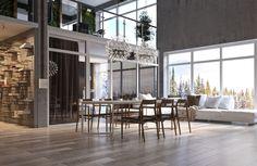 Дом в горах - Галерея 3ddd.ru