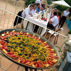 Paella in Spain