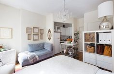 House Tour: Small But Sweet 190-Square-Foot NYC Studio | Apartment Therapy