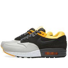 aa115cb432df Nike Air Max 1 Premium (Pale Grey   Dark Charcoal)