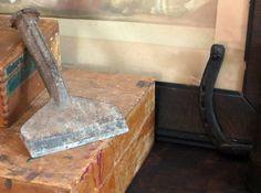 vintage craftsman wide steel chisel  rustic by BlueRoverVintage