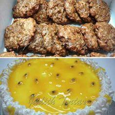 Besitos de coco y Torta de Parchita