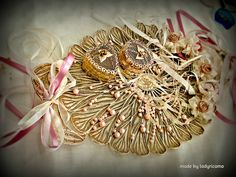 Lady Ricamo Hand Fan, Home Appliances, Lady, Handmade, House Appliances, Hand Made, Appliances, Handarbeit