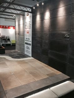 Modern and elegant off shutter cladding in the colour carbon- ideal for any home or office wall area.