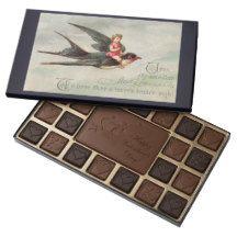 Vintage Bird Gourmet Valentine's Chocolate