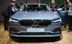 The 2017 Volvo S90 luxury flagship sedan is revealed. Read more about Volvo's newest model and see pictures at Car and Driver.