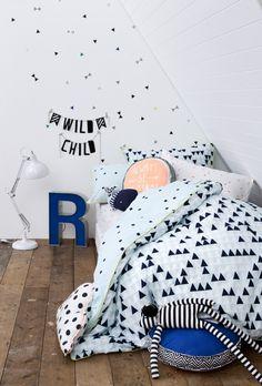 Stippen en driehoeken | Kinderkamer