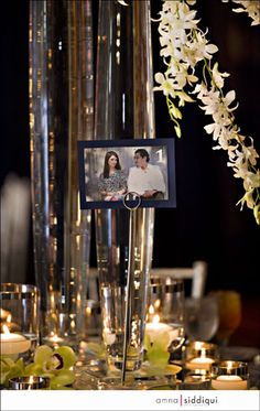 Picture table numbers? Ashley.... what about stands like this???
