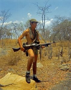 Rhodesian soldier