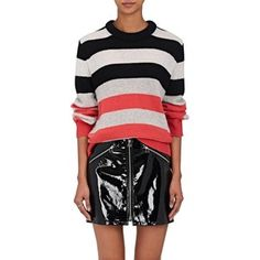 7a81ff74e5836b Rag  amp  Bone Women s Annika Striped Cashmere Sweater Shop Rags