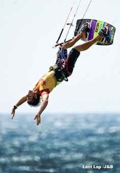 Sans les mains #kitesurf #freestyle