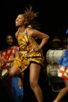 Exhilarated. How I feel when I African dance. My affair begin 20-years ago, but it is an ancestral draw that keeps me intimately connected. Love it!