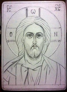 Christ, the Truth, the Way, and the Life. Byzantine Icons, Byzantine Art, Christian Images, Christian Art, Jesus Drawings, Art Drawings, Religious Icons, Religious Art, Greek Icons