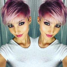 Moderne grau kurze Frisuren! 😱😱😱 Diese Damen haben eine trendige graue Frisur gewählt! ** Denken was Sie ist die schönste?