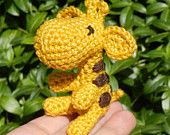 Small Crocheted Giraffe
