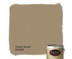 Dunn-Edwards Paints paint color: Tuscan Mosaic DE6208 | Click for a free color sample: