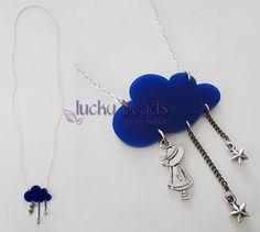 lucky beads by Güneş Kutlar - Kolye 447