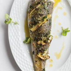 Taste Mag   Oven-roasted hake stuffed with fresh herbs and zesty lemon @ https://taste.co.za/recipes/oven-roasted-hake-stuffed-with-fresh-herbs-and-zesty-lemon/